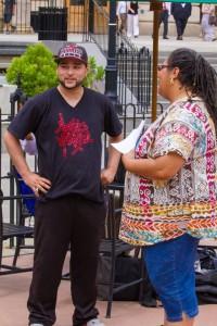 Luis Delgado and Parlee Jones