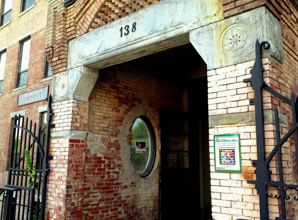Crompton Place entrance.