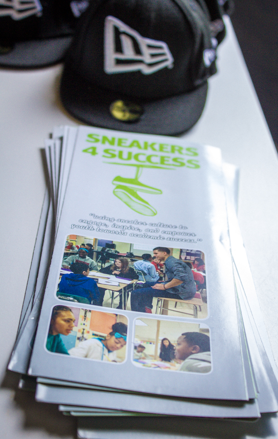 Sneakers4Success pamphlets.