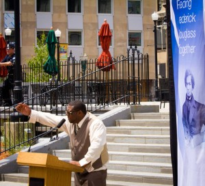 Cedric Arno, Frederick Douglass Reading July 1, 2014
